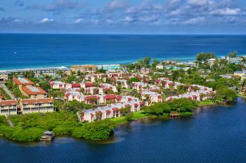 Our complex, Sarsota Bay and the Gulf of Mexico