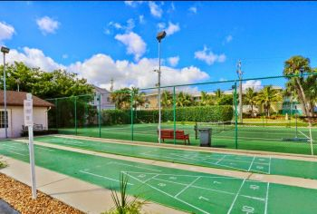 Shuffle Board and Tennis Courts