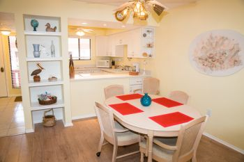 Dinning area and Kitchen 2 Bedroom 2 Bath